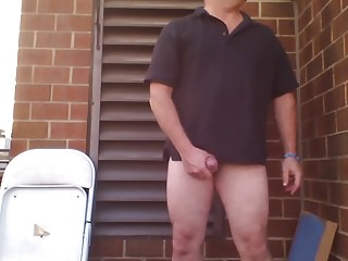 Outdoor (Gay);Sex Toys (Gay);HD Gays;Rooftop;Cute Strip;Cute Butt;Outside;Butt JoeyDs Pale cute...