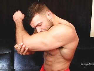 Muscle (Gay);Joshua Armstrong (Gay);HD Gays;Lifeguard;Rescue Lifeguard Cums To...