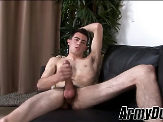 Cumshot,Masturbation,Solo,Big Cock,gay,hairy,Skinny,ArmyDuty,Myles Long Skinny twink...